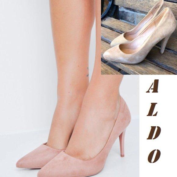 Aldo sued heels Lillig. Size 38